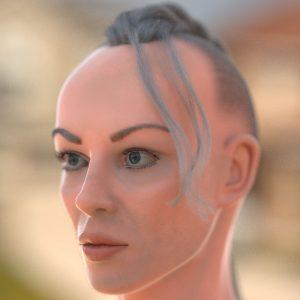 Ireen 3D-Character Head